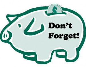 piggy-bank dont forget
